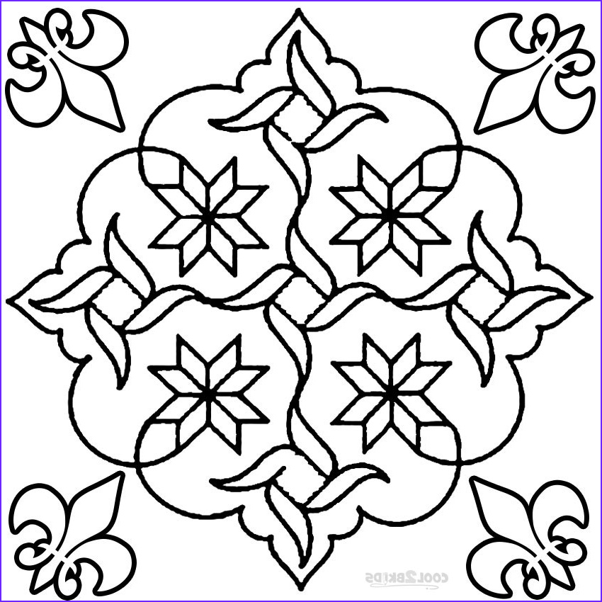 Coloring Pages Designs Awesome Photography Printable Rangoli Coloring Pages for Kids