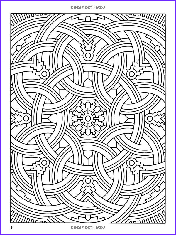 Coloring Pages Designs Awesome Photos Difficult Geometric Design Coloring Pages