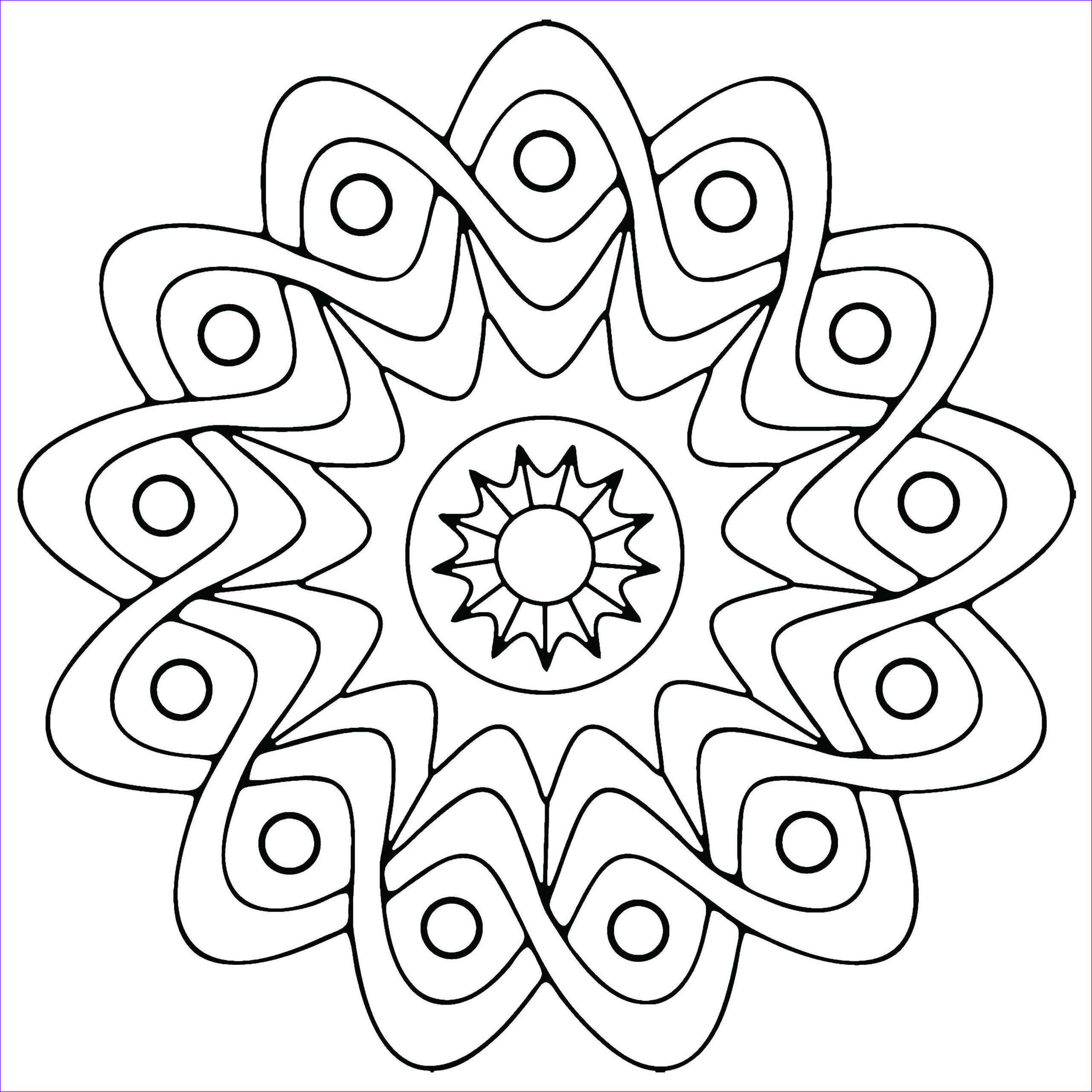 Coloring Pages Designs Inspirational Stock Free Printable Geometric Coloring Pages for Kids