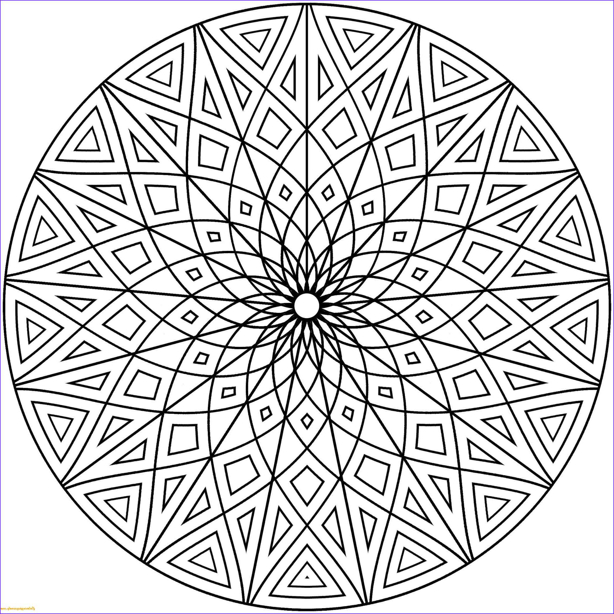Coloring Pages Designs Luxury Images Hard Geometric Designs Coloring Page Free Coloring Pages