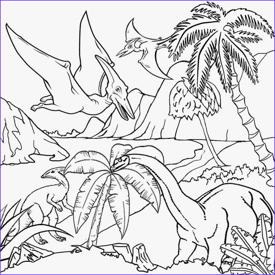 Coloring Pages Dinosaurs Awesome Gallery Free Coloring Pages Printable to Color Kids