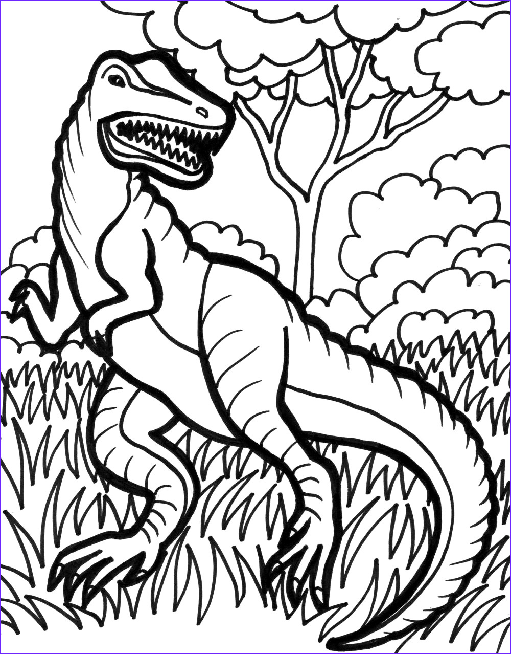 Coloring Pages Dinosaurs Cool Photos Trex Coloring Pages Best Coloring Pages for Kids