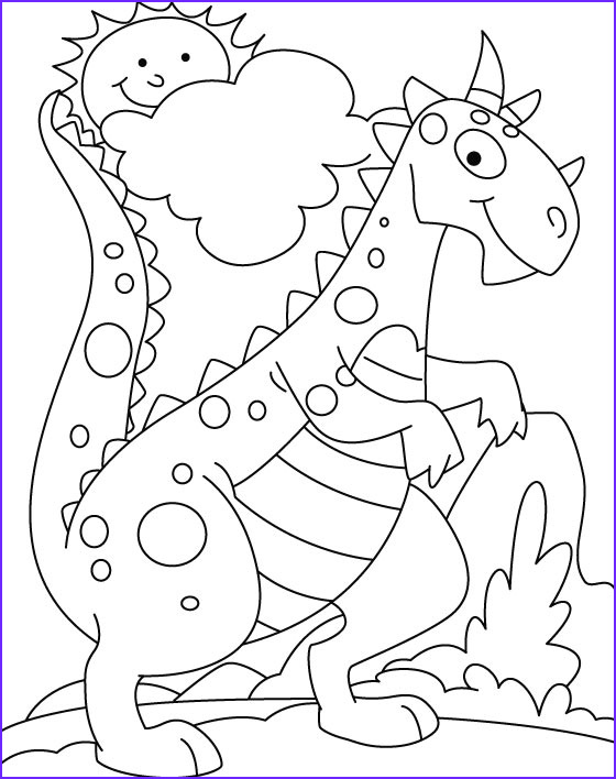 dinosuar in park coloring pages 1d1097