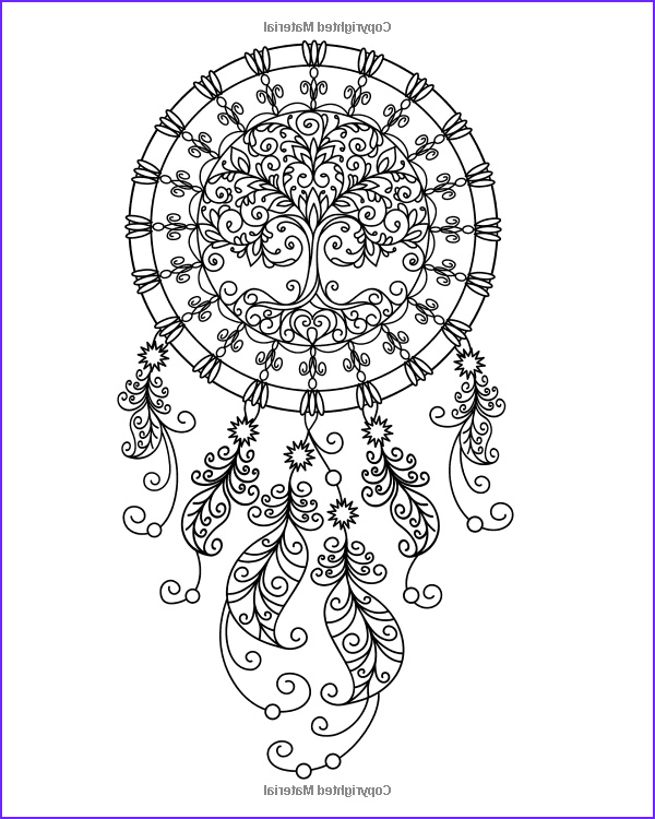 Coloring Pages Dream Catchers Luxury Photos Amazon Dream Catcher Coloring Book An Adult Coloring