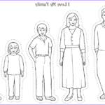Coloring Pages Family Best Of Photos I Love My Whole Family Lds Sunbeams