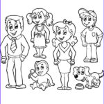 Coloring Pages Family Cool Gallery Family Members Drawing At Getdrawings