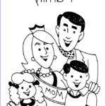 Coloring Pages Family New Images Family Coloring Page Twisty Noodle