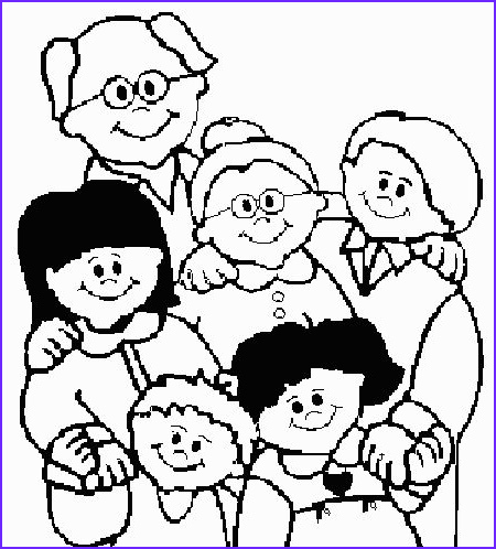 Coloring Pages Family Unique Photos God Made Families Coloring Page