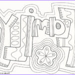 """Coloring Pages Family Unique Photos """"family"""" Doodle Coloring Page Zentangle Word Wuote"""