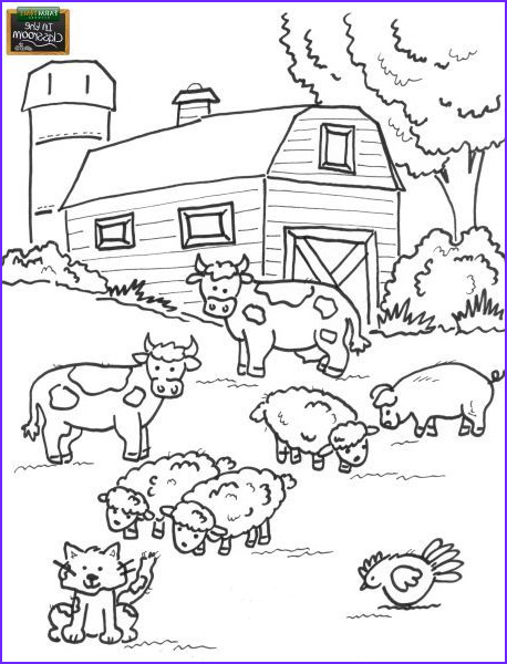 Coloring Pages Farm Animals Beautiful Photos Teach Your Students About Different Farm Animals Free