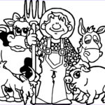 Coloring Pages Farm Animals Best Of Collection 35 Baby Farm Animals Coloring Pages All Baby Farm Animal