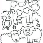 Coloring Pages Farm Animals Best Of Photos Pin On Preschool