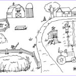 Coloring Pages Farm Animals Elegant Photos Diy Farm Crafts And Activities With 33 Farm Coloring