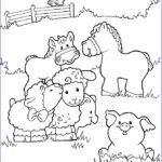 Coloring Pages Farm Animals Unique Photography Diy Farm Crafts And Activities With 33 Farm Coloring