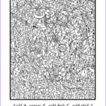 Coloring Pages For Adults Difficult Best Of Collection Print Really Hard Difficult Color By Number For Adults