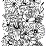 Coloring Pages For Adults Flowers Elegant Collection Flowers Paisley Flowers Adult Coloring Pages