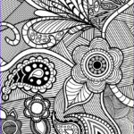 Coloring Pages For Adults Flowers Inspirational Stock Flowers & Paisley Design Coloring Pages Hellokids