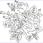 Coloring Pages For Adults Flowers Luxury Photos Flower Coloring Pages