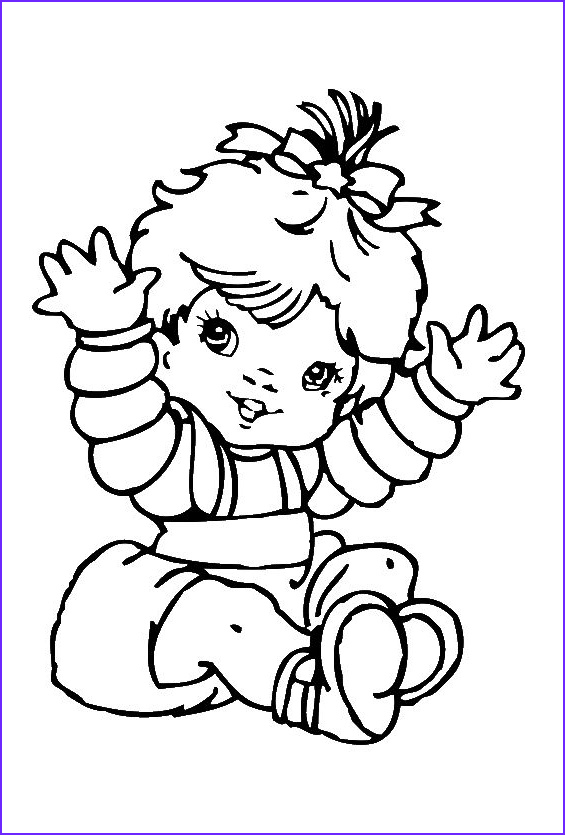Coloring Pages for Babies Awesome Photos Cute Baby Girl Coloring Pages Baby Coloring Pages Free