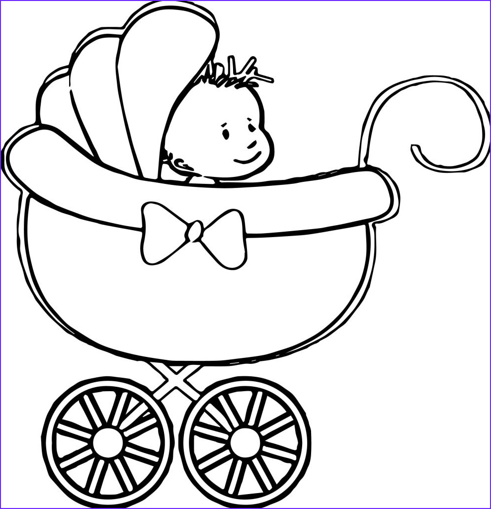 Coloring Pages for Babies Beautiful Gallery Free Printable Baby Coloring Pages for Kids