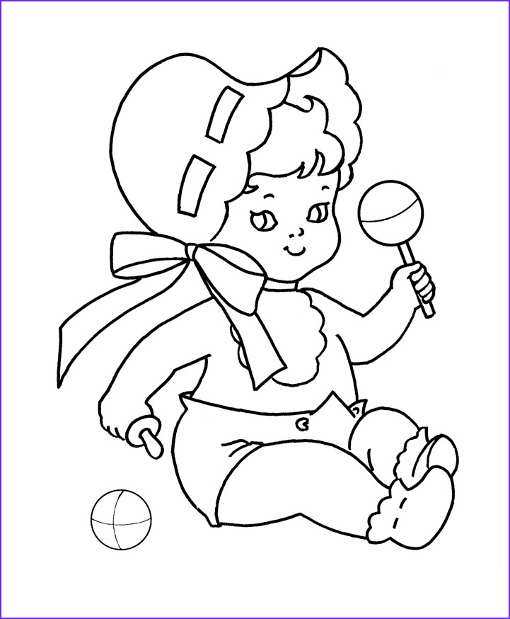 Coloring Pages for Babies Elegant Photos Free Printable Baby Coloring Pages for Kids