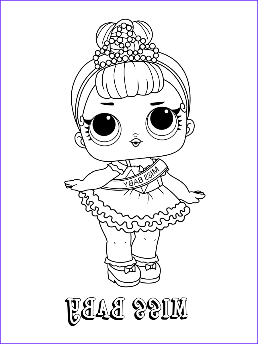 Coloring Pages for Babies Inspirational Images Lol Surprise Coloring Pages