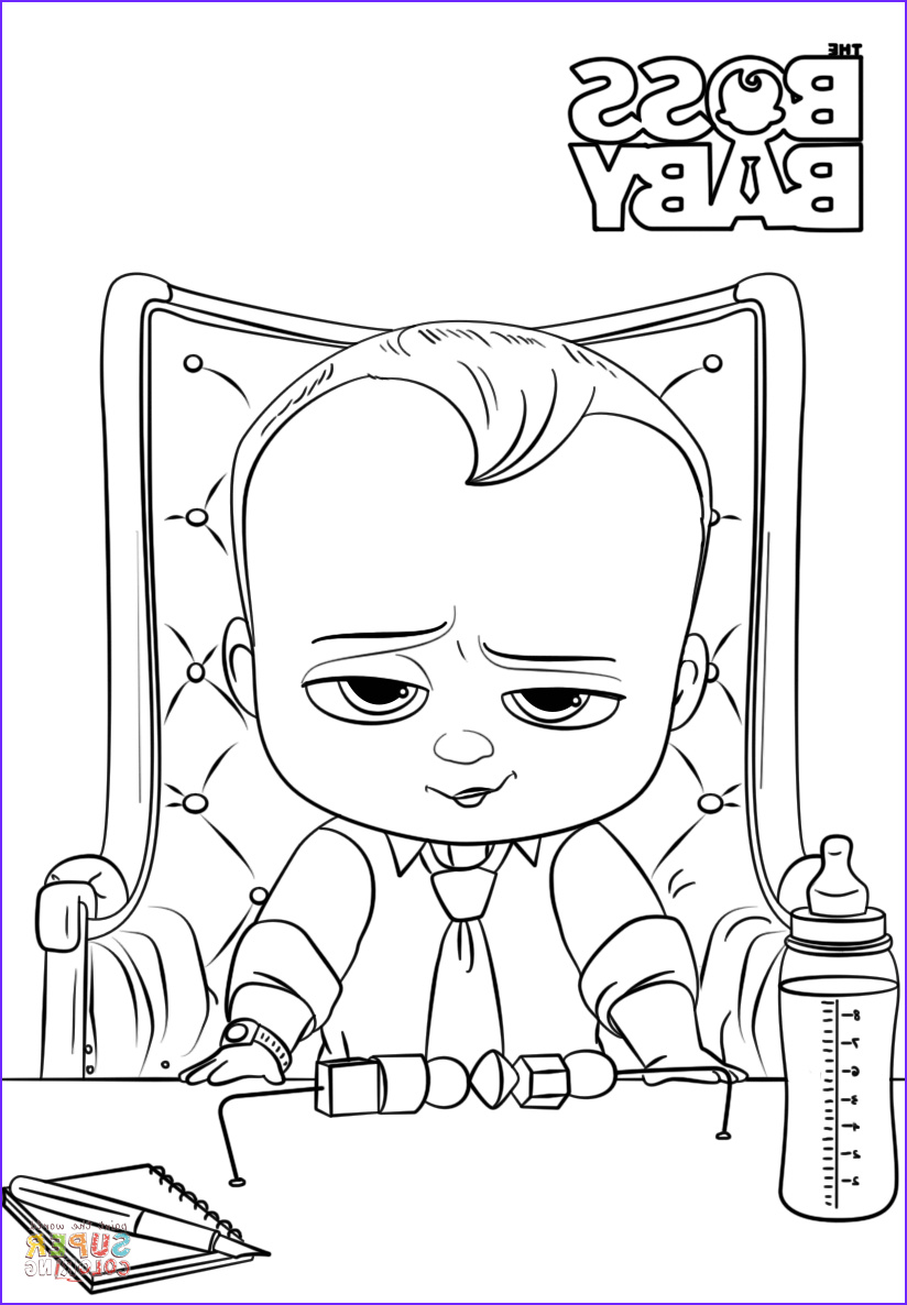 Coloring Pages for Babies Luxury Photography Boss Baby Coloring Page