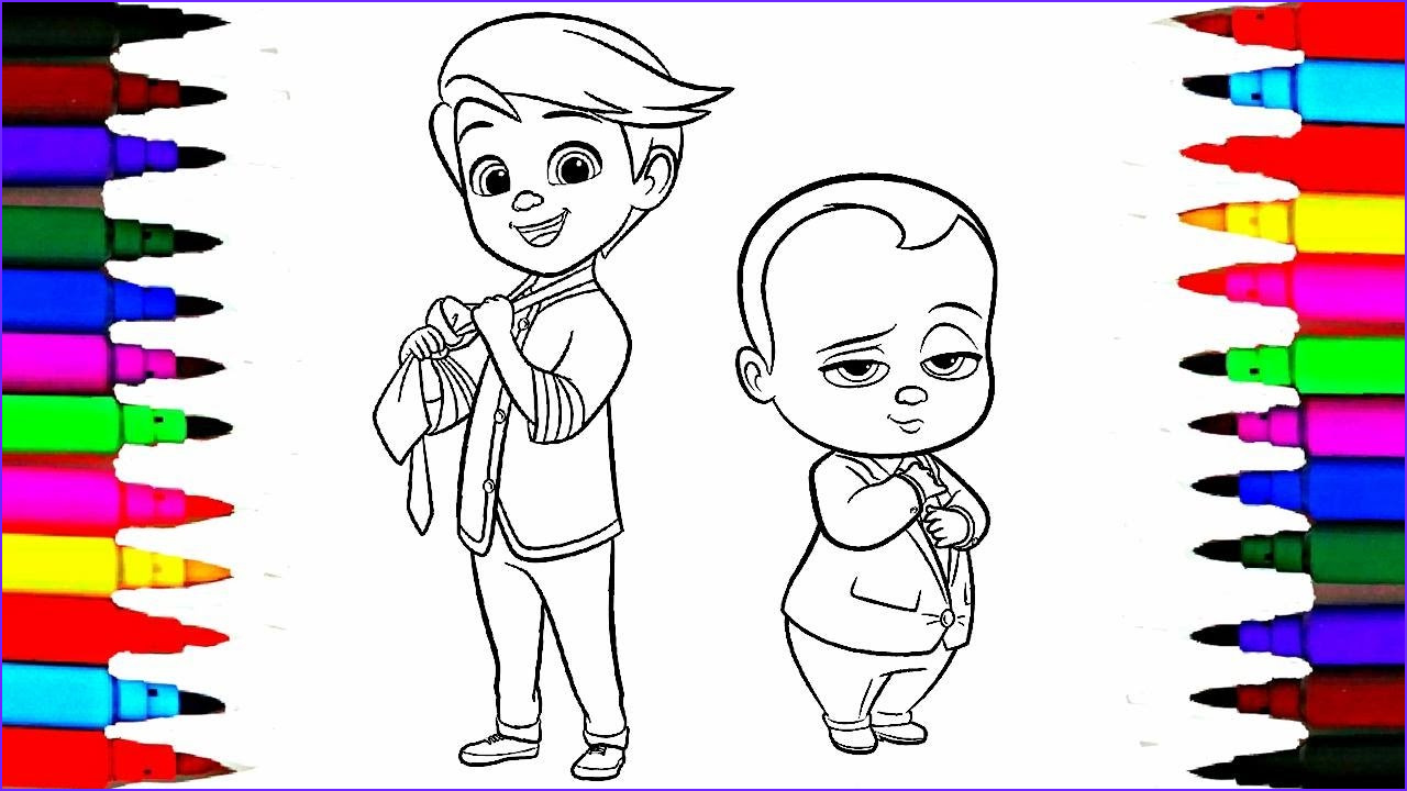 Coloring Pages for Babies Unique Gallery Colours for Kids Boss Baby Coloring Pages L Dreamworks