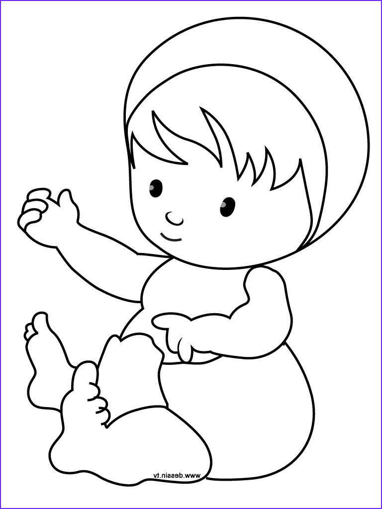 Coloring Pages for Babies Unique Photos Baby Coloring Sheets Ly Coloring Pages
