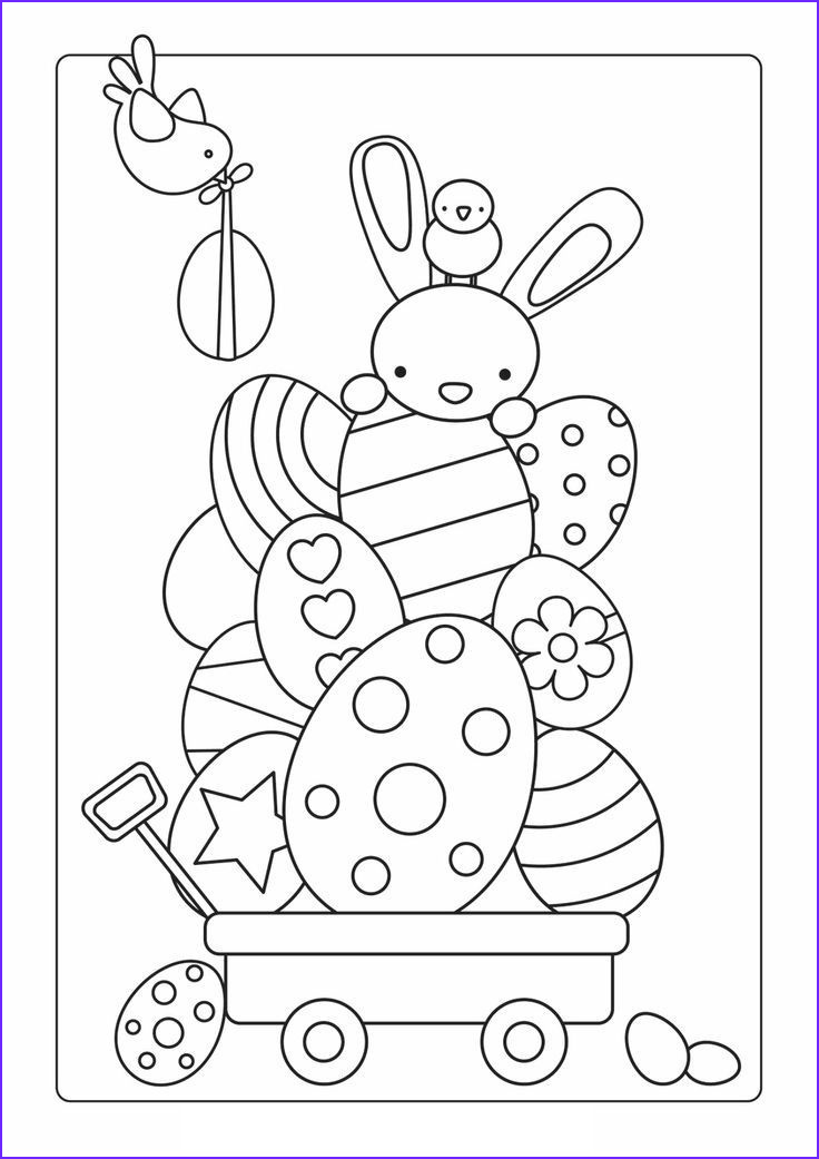 Coloring Pages for Easter Beautiful Gallery 1000 Images About April Coloring Sheets On Pinterest