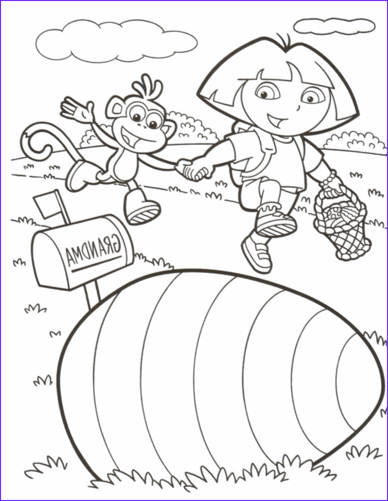 Coloring Pages for Easter Beautiful Stock Easter Coloring Pages February 2012