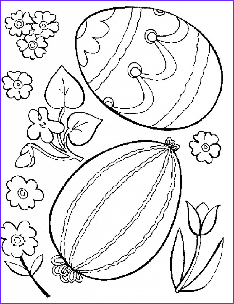 Coloring Pages for Easter Beautiful Stock Free Printable Easter Egg Coloring Pages for Kids