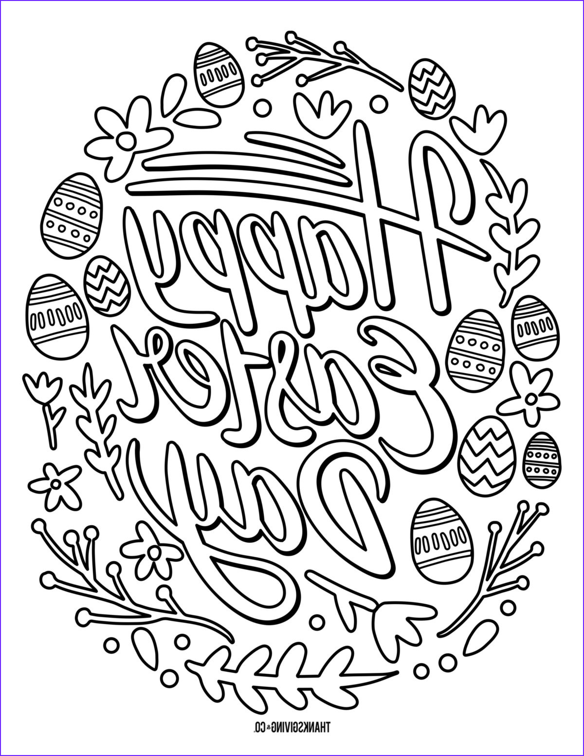 Coloring Pages for Easter Best Of Collection Free Happy Easter Coloring Pages Printable for Adults