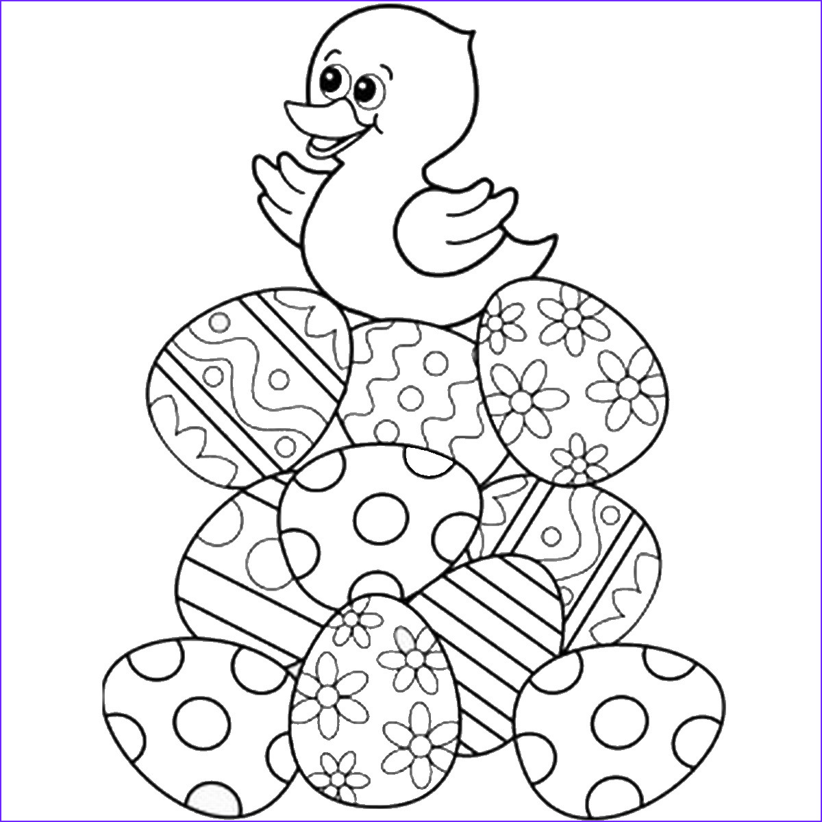 Coloring Pages for Easter Cool Image Easter Coloring Pages