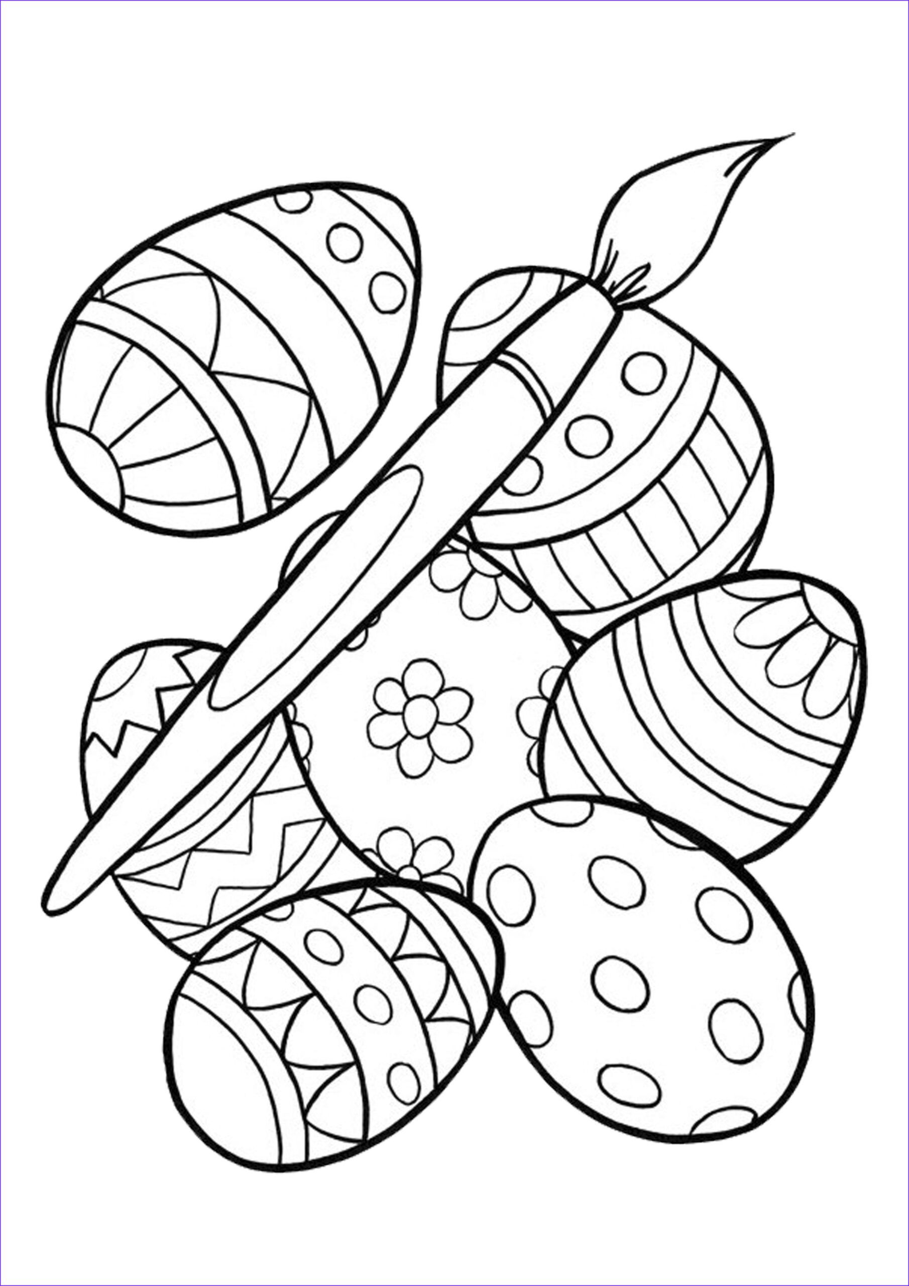 Coloring Pages for Easter Luxury Images Easter Color Pages Pinterest