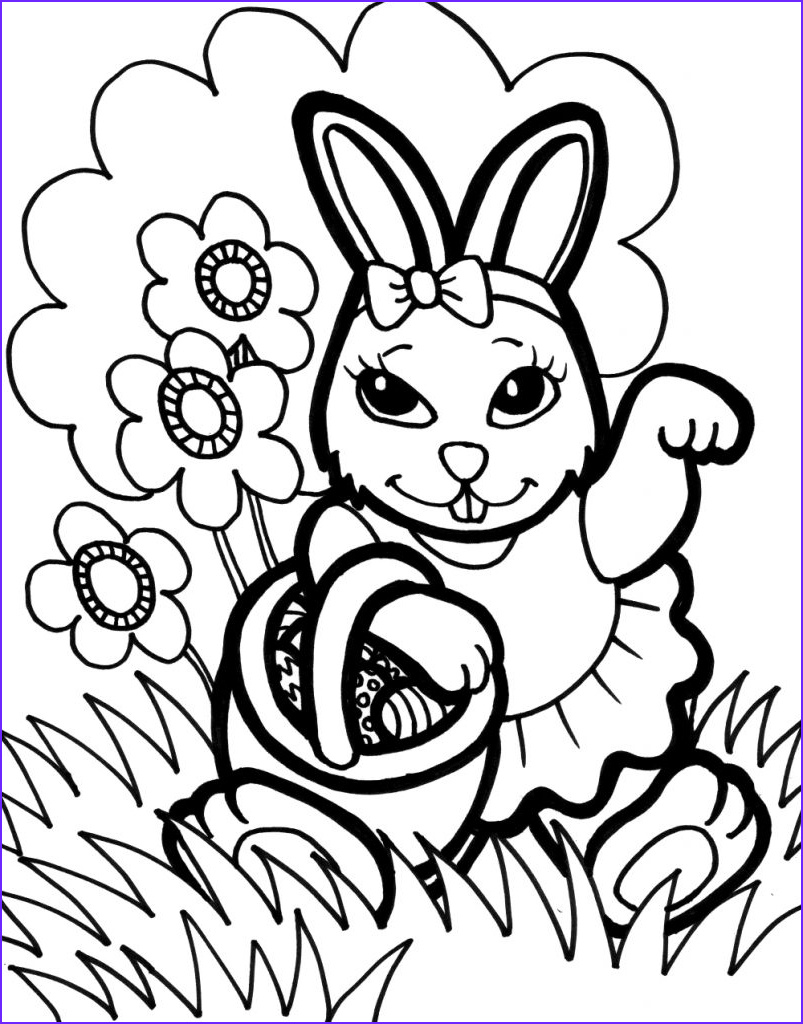 Coloring Pages for Easter New Gallery Bunny Coloring Pages Best Coloring Pages for Kids