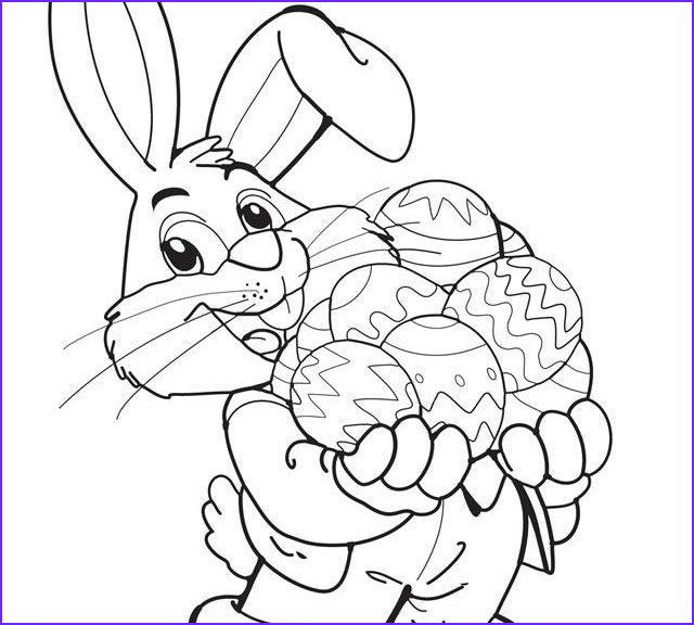 Coloring Pages for Easter New Images Easter Bunny Coloring Pages