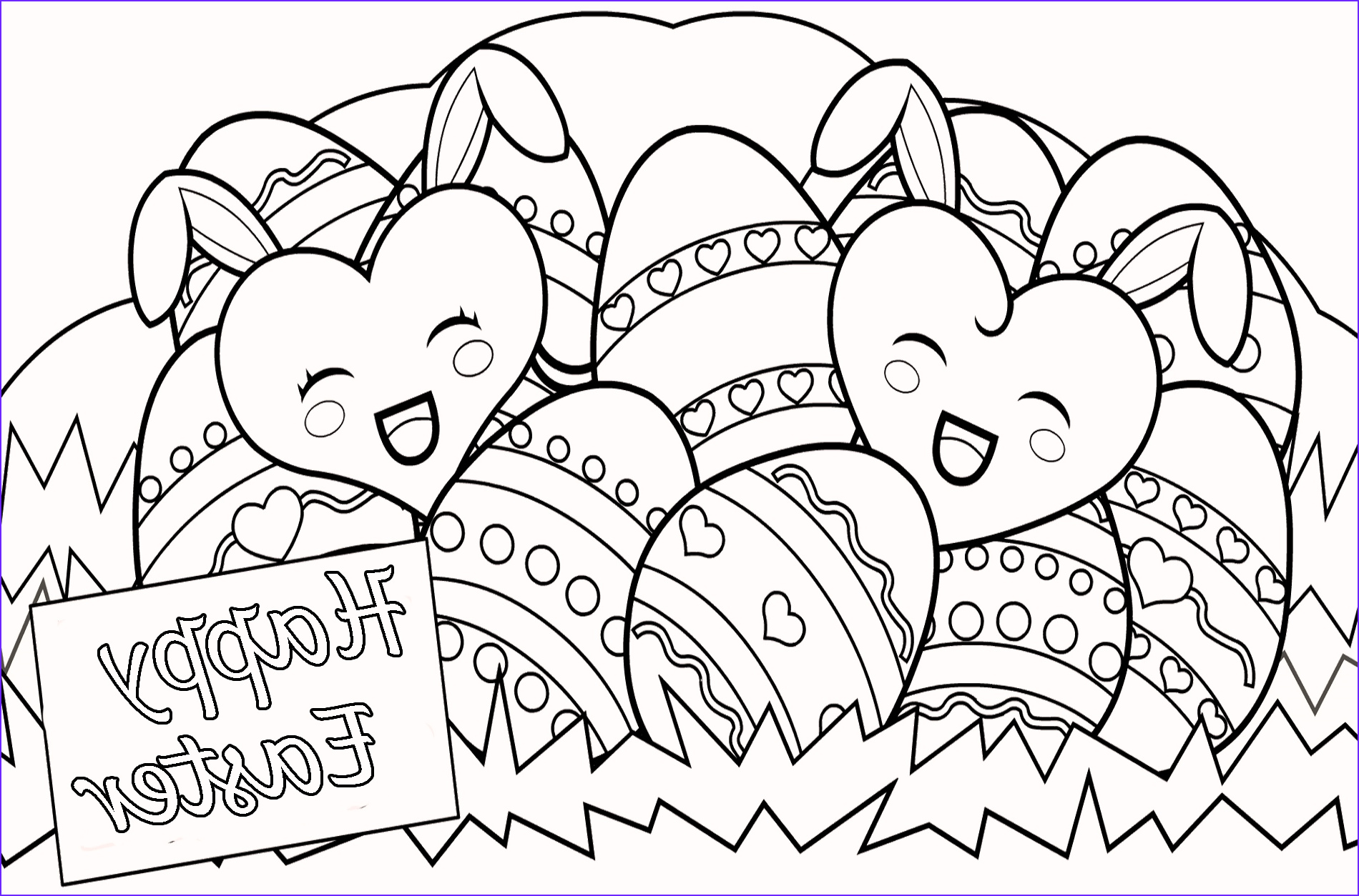 Coloring Pages for Easter New Photos Happy Easter Coloring Pages for Free