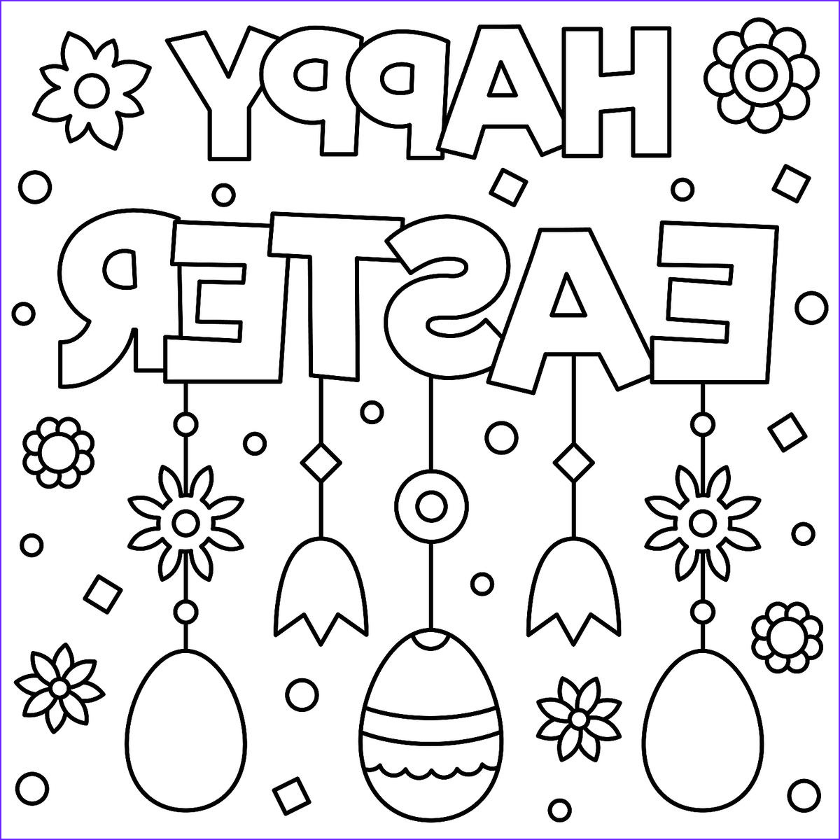 Coloring Pages for Easter Unique Gallery Easter Coloring Pages Fun Spring themed Printables for
