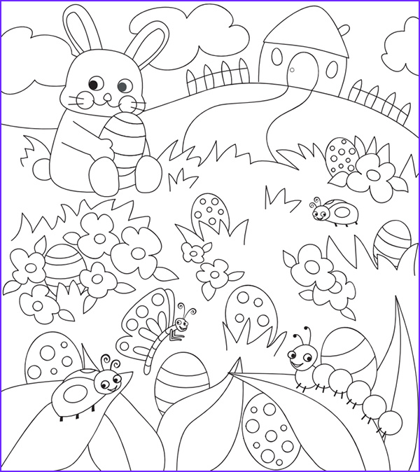 Coloring Pages for Easter Unique Image Free Easter Colouring Pages the organised Housewife