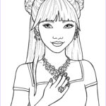 Coloring Pages For Girls Inspirational Images Coloring Pages For Girls Best Coloring Pages For Kids