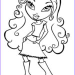 Coloring Pages For Girls Luxury Gallery Bratz Coloring Pages Free Printable Coloring Pages