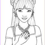 Coloring Pages For Girls Unique Photos Cute Coloring Pages For Girls With Inside Teens Teenage