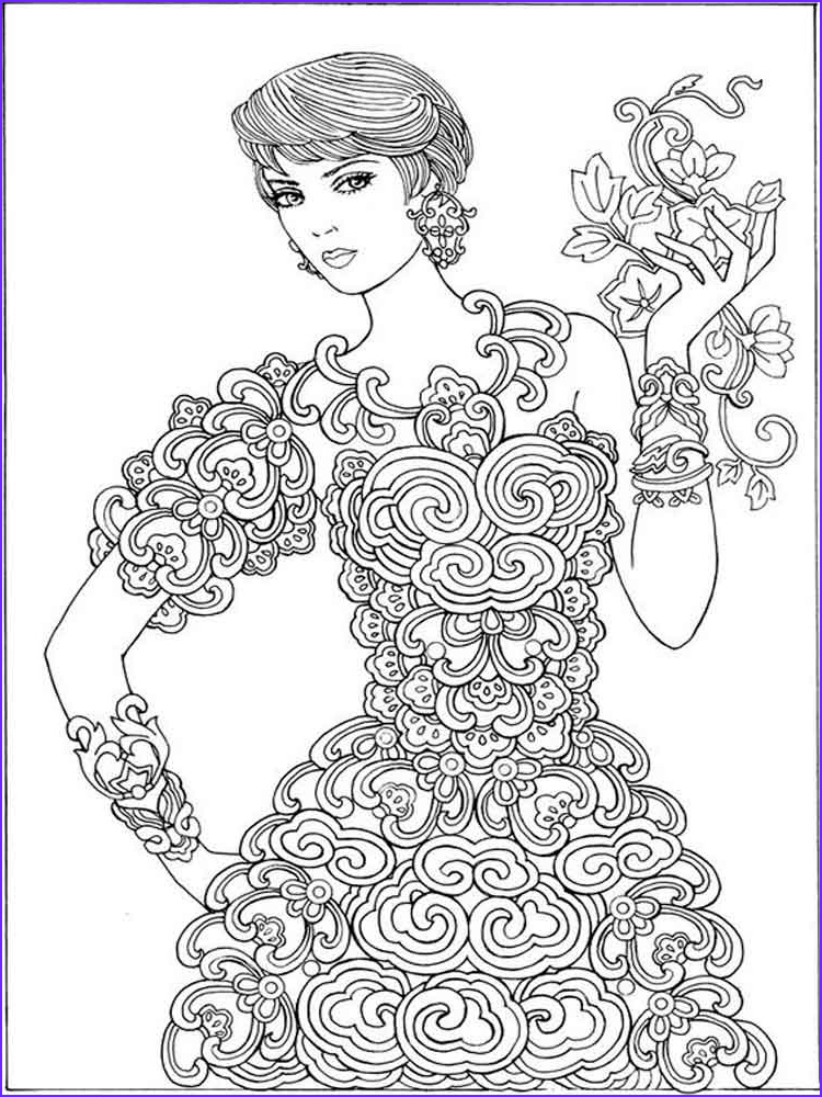 Coloring Pages for Grown Ups Best Of Stock Grown Up Coloring Pages Free Printable Grown Up Coloring
