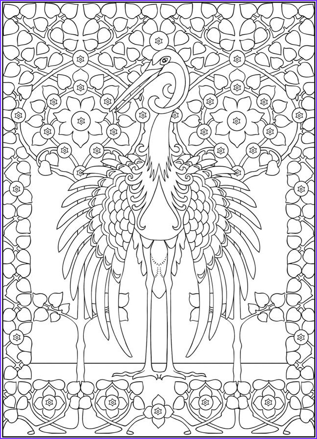 Coloring Pages for Grown Ups Cool Images Wel E to Dover Publicationswel E to Dover Publications