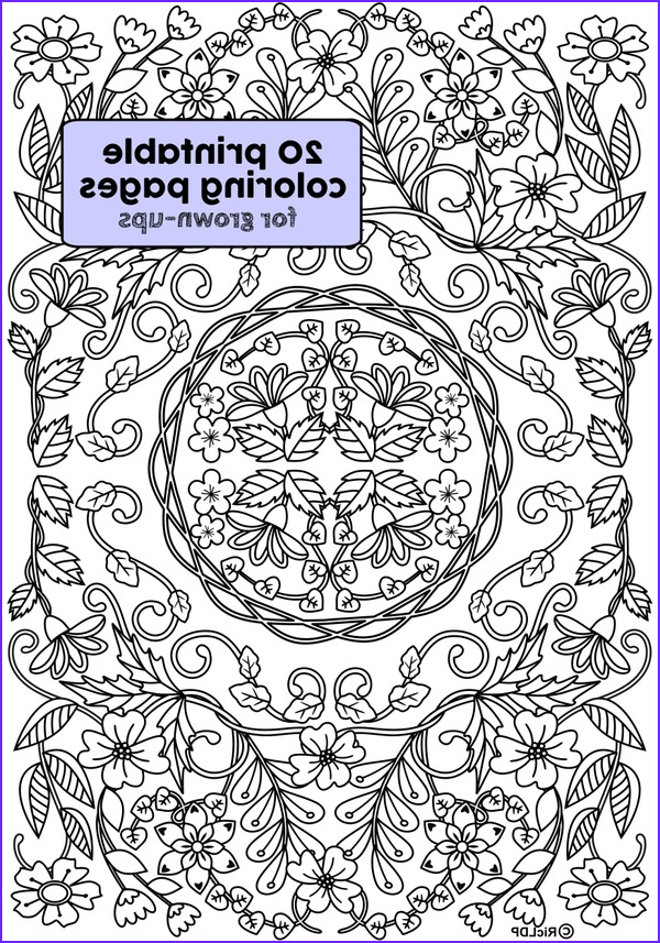Coloring Pages for Grown Ups New Photos Ricldp Artworks Sellfy
