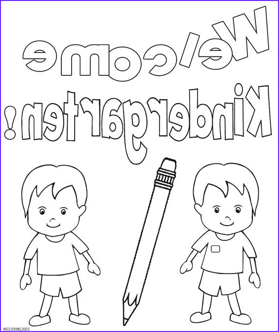 Coloring Pages for Kindergarten Cool Photos Printable Kindergarten Coloring Pages for Kids