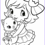 Coloring Pages For Little Kids Cool Stock Coloring Pages Little Girl