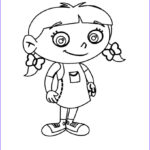 Coloring Pages For Little Kids New Image Smiling Annie Little Einsteins Coloring Pages