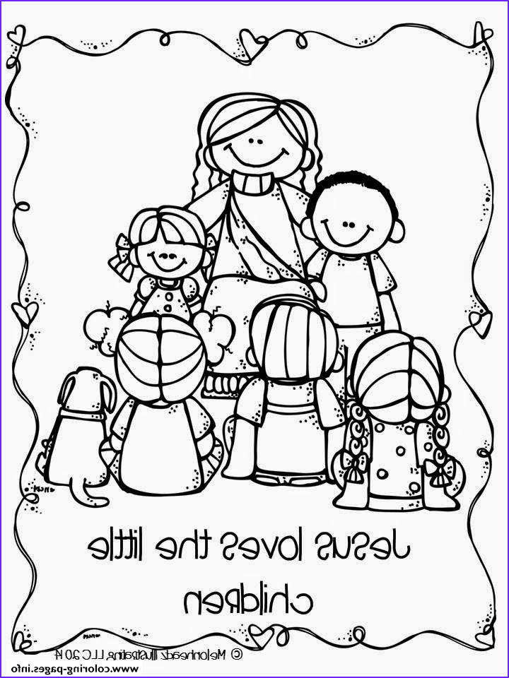 jesus loves the little children printable coloring pages book
